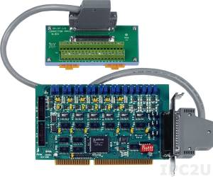 A-626/S Adapter ISA, 6 DAC, 16DI, 16DO, Screw Terminal Board DB-37