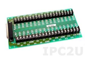 DB-8325/1 Screw Terminal Board, DB-37 Connector