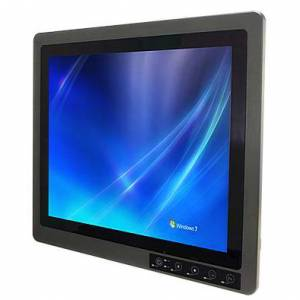 """R19IHAT-66EX Rugged Fanless Panel PC 19"""" TFT LCD (Full IP67), projected capacitive touch, Intel Core-i7 4650U 3.3GHz CPU, 4GB DDR3L, 128GB SSD, 2xIP67 USB 2.0, 3xM12 and 2xM16 cable gland (4xUSB/2xLAN/2xCOM/VGA/Power), power supply 9-36V DC Atex Zone2 certified"""