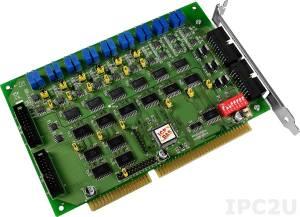 A-726 6-channel 12-bit Analog Output and Digital I/O Board (RoHS)