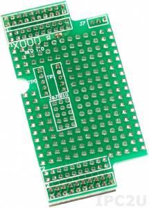 X000 Prototype Board for I-7188XA/XC, 64 x 38 mm