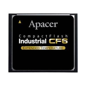 AP-CF002GR9NS-ETNRA APACER Industrial CF5 CompactFlash 2GB, -40..+85