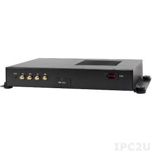 AIV-QM97V1FLCi7 Embedded Server Intel Core i7-5650U, 2x204 pin DDR3-1333/1600 SO-DIMM up to 16 GB non ECC, HDMI, DVI-D, 4xUSB, 2xGbit LAN, 2xRS232, 1xRS232/422/485, 8-bit GPIO (4 in, 4 out), 9~32 V (+/-5%) single voltage input, 3 poles terminal block