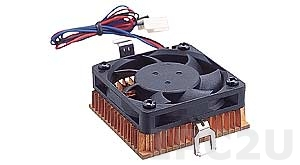 CF-504-RS 1U Slim CPU Cooler for Socket-7/370, RoHS