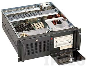 """GH-414SR 19"""" Rackmount 4U Chassis, 14/15 Slots, 3x5.25""""/1x3.5"""" Drive Bays, without P/S"""