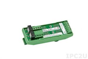 SCMPB03-2 Single Channel Backpanel for SCM5B Modules, DIN Rail Mounting