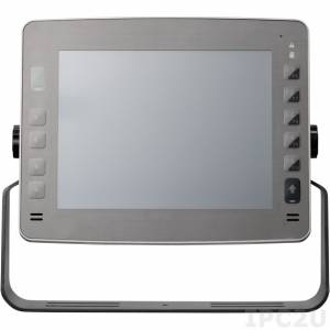 """VMC-3500-K 10.4"""" rugged vehicle mount computer with Touch Screen and Intel Core i7 2610UE 1.5GHz, 2GB DDR3, GB LAN, CFast, 2.5"""" SATA SSD Bay, 2xMini-PCIe, GPS module"""