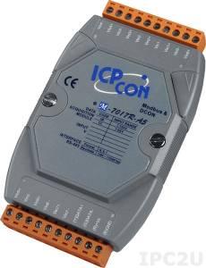 M-7017R-A5 8-channel High Voltage Input Module with CA-5810 x 2, Modbus RTU