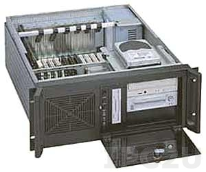 """GH-418SR 19"""" Rackmount 4U Chassis, 14 Slots, 3x5.25""""/1x3.5"""" FDD/2x3.5"""" HDD Drive Bays, without P/S"""