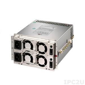 ZIPPY MRW-5450V4V Mini Redundant AC Input PS/2 450+450W ATX Power Supply, ATX12V, with Active PFC