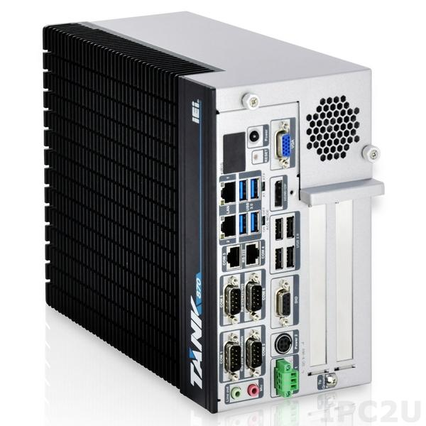 Fanless Embedded System TANK-870AI-i5/8G/2A