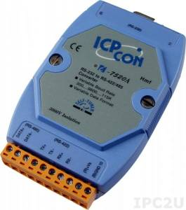 I-7520A RS-232 to RS-422/485 Converter with RS-485 Automatic Data Direction Control, Isolation Protection