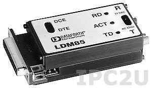 LDM85-P/-025 RS-232/422/423 to Fiber Optic Converter Add -025 for ST Connector