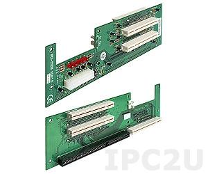 PCI-5SD6-RS 2U 1xPICMG, 4xPCI Slots ATX Butterfly Backplane, 12V max, RoHS