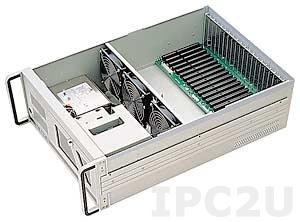 "RPC-520 19"" Rackmount 4U Chassis, w/o Back Panel, 2x5.25""/3x3.5"" Drive Bays, w/o PS"