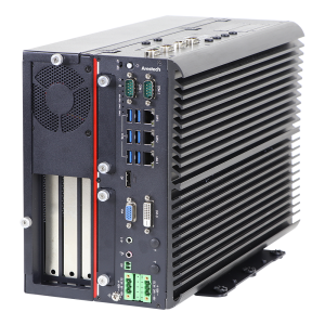 "MEGA-3113 High-Performance GPU Computer, Intel 8th/9th Gen Core i3/i5/i7 CPU, VGA, DVI-D, DP, 3xGbE, 6xUSB 3.2, 6xRS232/422/485, 2x mSATA, 4x2.5"" SATA Bay, 1x PCIex16, 2x PCIex8 slot (4 lane), 9..48VDC, -40..60C operating temp"