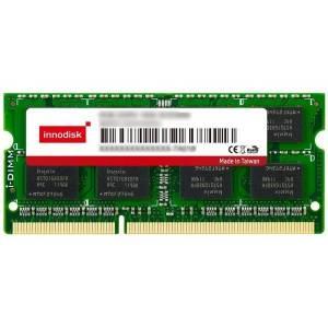 M3SW-4GSJDCN9 4GB DDR3 SODIMM 1333MHz Industrial Innodisk Memory Non-ECC 2R 256Mx8, IC Samsung, Standard Temperature 0..+70C