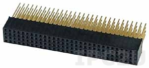 PC104L120P-2.0 Connector for PC/104plus 120pin Stackthru