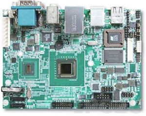 """PEB-2737-1100 3.5"""" Embedded Intel Atom Z510 1.1GHz CPU Card with VGA/LVDS, GbE, CFII, 4xUSB, 2xSATA, 1xIDE, RoHS, PS/2 Mouse, PS/2 Keyboard, 1xRS232, Audio"""