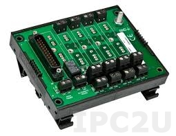8BP04-2 4 Channels Backpanel for 8B Modules, no CJC, up to 50V