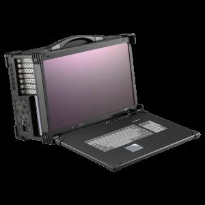 """iROBO-ARP690-FHD-A7M91 Industrie Portable Workstation, 21.5"""" 1920x1080 TFT LCD (DP input), Intel Core i5-9500, Intel C246 Chipset, 8GB DDR4 RAM (max.128GB), 128GB SSD, 2xGbit LAN, 2xUSB3.1,1xUSB3.1/1xUSB3.1 Type C Gen2, 1xPCIe x16, 1xPCIe x4, 1xPCIe x1, 1xPCI, PS2 650W PSU"""