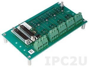 SCM7BP04 4 Channels Backpanel for SCM7B Modules