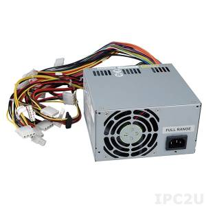 ACE-A160A 600W AC-DC PS/2 ATX Power Supply with ERP, CCL, Meet 80 PLUS (Bronze)