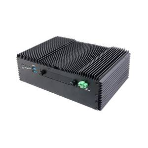 "EMS-SKLU-i7-Marine Embeded Rugged Fanless System, 6th Gen Intel Core i7-6600U, up to 16GB DDR4 RAM, 4xUSB, 6xCOM, 2.5"" Drive Bay, M.2, 1x Mini-PCIe, 9..+36V DC-In"