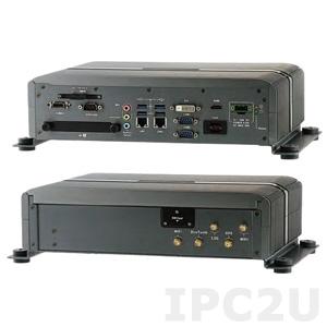 "AIV-HM76V0FLI53 Embedded Server Intel Core i5-3610E 2.7GHz CPU, 2GB DDR3, HDMI, DVI-D, Video-out (combo with USB, Audio, Power), 4x USB, 2xGbit LAN, RS232, RS232/422/485, 4xDI/4DO, Audio, 2x2.5"" SATA Drive Bays, 2xMini-PCIe, 9..32V DC-In"