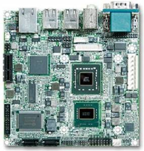 NANO-8050-2260 Nano-ITX Intel Core 2 Duo SP9300 2.26GHz CPU Card with DVI-D, LVDS, Gb LAN, CF, 4xUSB, Audio, 1xPCI-E