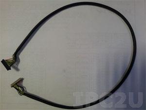 32602-017300-100-RS LVDS cable, 2, 600mm, 28AWG, (A)FI-S20S P=1.0, (B)DF13-30DS-1.25C, 18bit