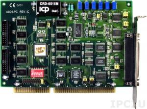 A-826PG Multifunction Adapter ISA, 16SE/8D 16-bit ADC, 2 DAC, 16DI, 16DO, Timer