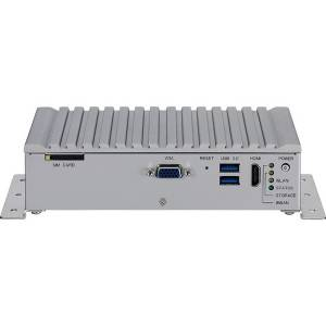 VTC-1020 Embedded server with Intel Atom processor x5-E3930 1.8GHz CPU, 4GB DDR3L SO-DIMM, VGA+HDMI, Gb LAN, 5xRS-232, 3xRS-485, 1xCAN, 2xUSB 3.0, 2xMini-PCIe, 9...36V DC input, 12VDC output