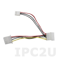 32100-064401-RS Power cable for PPC-51x series, 10cm, 15V