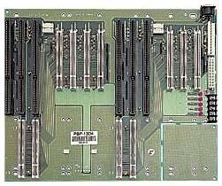 PBP-13D4 2 Segments 13 Slots PICMG Backplane w/2x(2xPICMG/1xISA/3-4xPCI)
