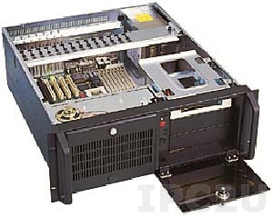 """GH-410ATXR 19"""" Rackmount 4U Chassis, ATX, 3x5.25""""/1x3.5"""" HDD Drive Bays, without P/S"""