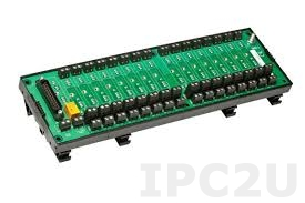 8BP16 16 Channels Backpanel for 8B Modules, up to 50V